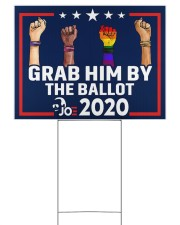 All skins grab him by the ballot yard sign 24x18 Yard Sign front