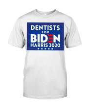 Dentists for Biden Harris 2020 Sign Classic T-Shirt thumbnail