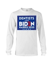 Dentists for Biden Harris 2020 Sign Long Sleeve Tee thumbnail