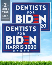 Dentists for Biden Harris 2020 Sign 24x18 Yard Sign aos-yard-sign-24x18-lifestyle-front-32