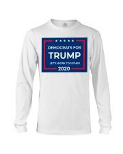 Democrats for Trump yard sign Long Sleeve Tee thumbnail