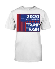 2020 all aboard the Trump train yard sign Classic T-Shirt tile