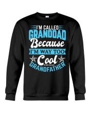 Cool GRANDDAD Grandpa Fathers Day Shirts Crewneck Sweatshirt thumbnail