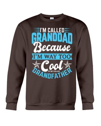 Cool GRANDDAD Grandpa Fathers Day Shirts