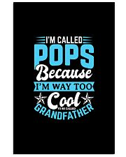 I'm Called POPS Gifts Fathers Day Grandpa Shirt 11x17 Poster thumbnail