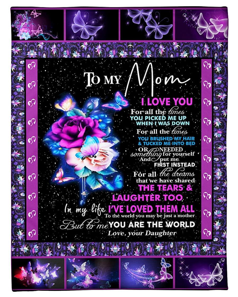"To my Mom Small Fleece Blanket - 30"" x 40"""