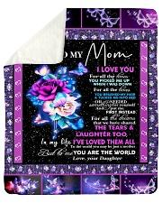 "To my Mom Sherpa Fleece Blanket - 50"" x 60"" thumbnail"