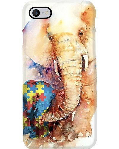 Elephants Papa Autism Phone Case