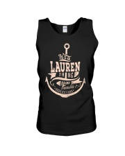 Lauren Thing Unisex Tank thumbnail