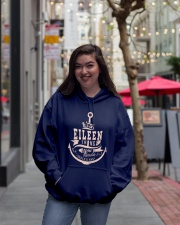 Eileen Thing Hooded Sweatshirt lifestyle-unisex-hoodie-front-2