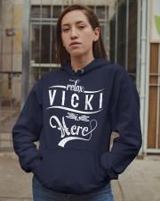 VIcki Thing  Hooded Sweatshirt apparel-hooded-sweatshirt-lifestyle-08