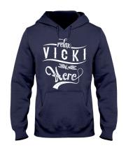 VIcki Thing  Hooded Sweatshirt front