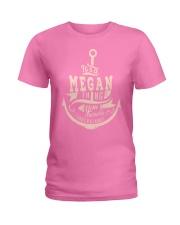 Megan Thing Ladies T-Shirt thumbnail