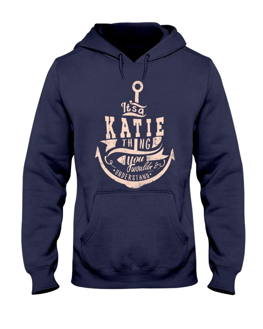 Katie Thing  Hooded Sweatshirt