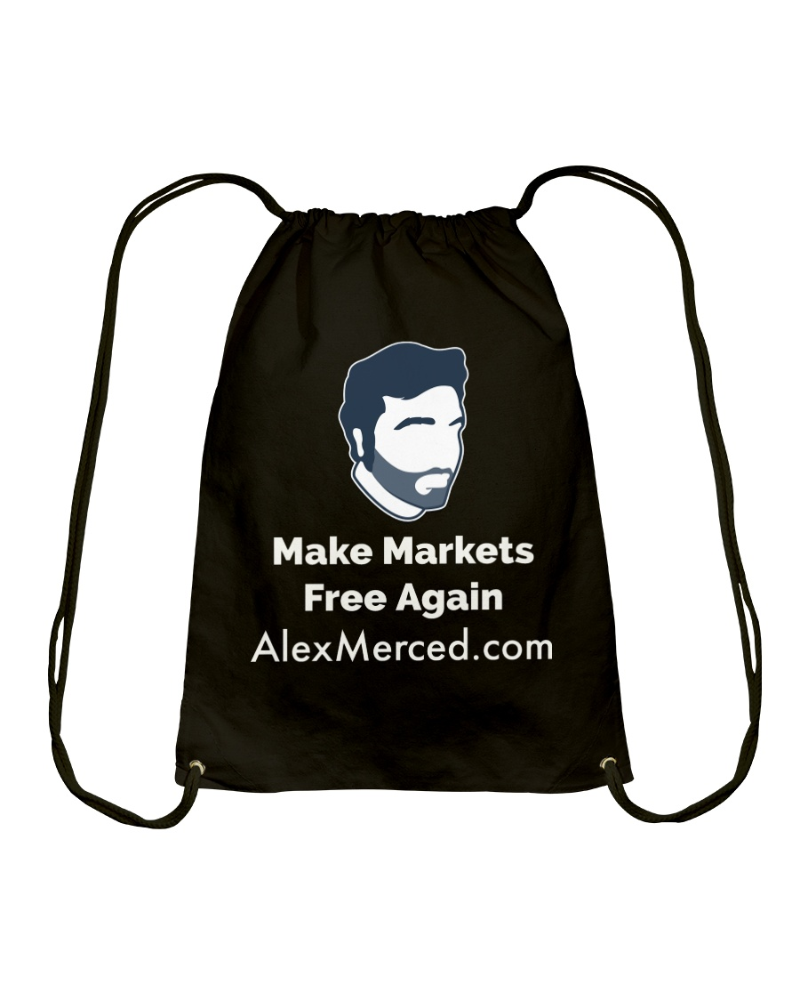 Make MarketsT-Shirt Drawstring Bag