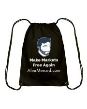 Make MarketsT-Shirt Drawstring Bag front