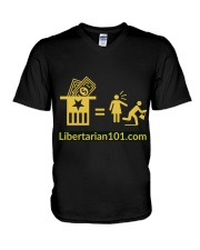 Taxation is what V-Neck T-Shirt thumbnail