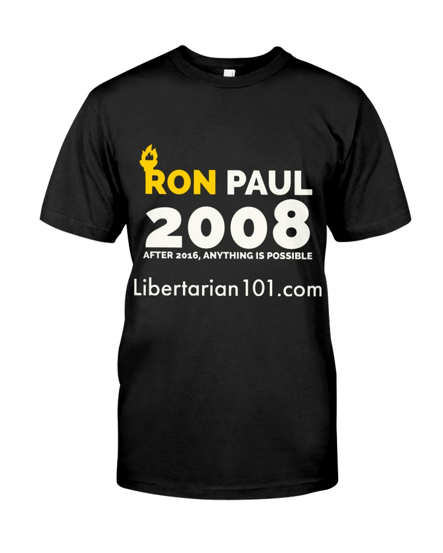 Post-2016 Ron Paul 2008 T-Shirt Classic T-Shirt
