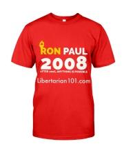 Post-2016 Ron Paul 2008 T-Shirt Classic T-Shirt front
