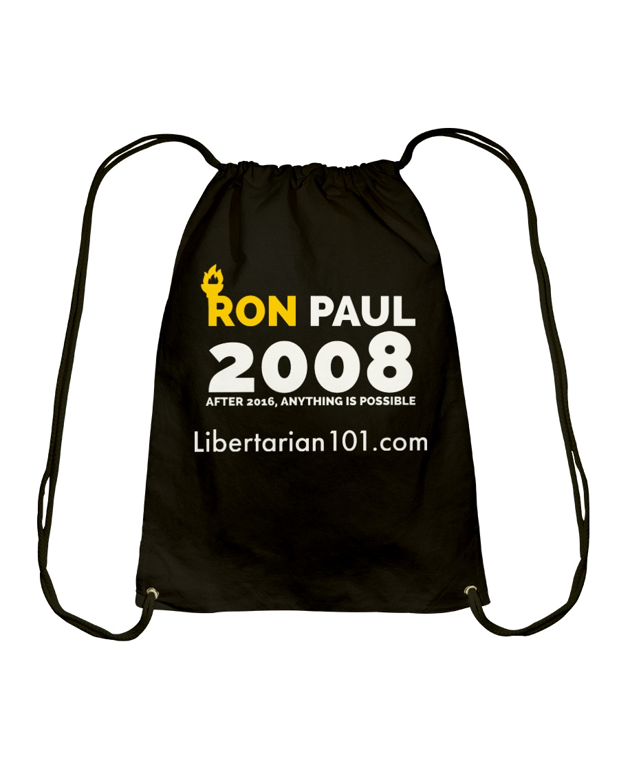 Post-2016 Ron Paul 2008 T-Shirt Drawstring Bag