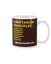 Libertarian Principles T-Shirt Mug thumbnail