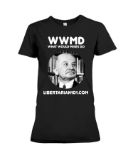 What Would Mises Do T-Shirt Premium Fit Ladies Tee thumbnail