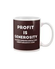 Profit is Generosity T-Shirt Mug thumbnail