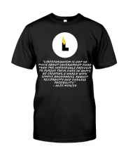What is Libertarianism Premium Fit Mens Tee tile