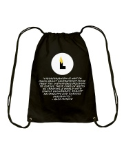 What is Libertarianism Drawstring Bag tile