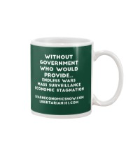 Without Government T-Shirt Mug front