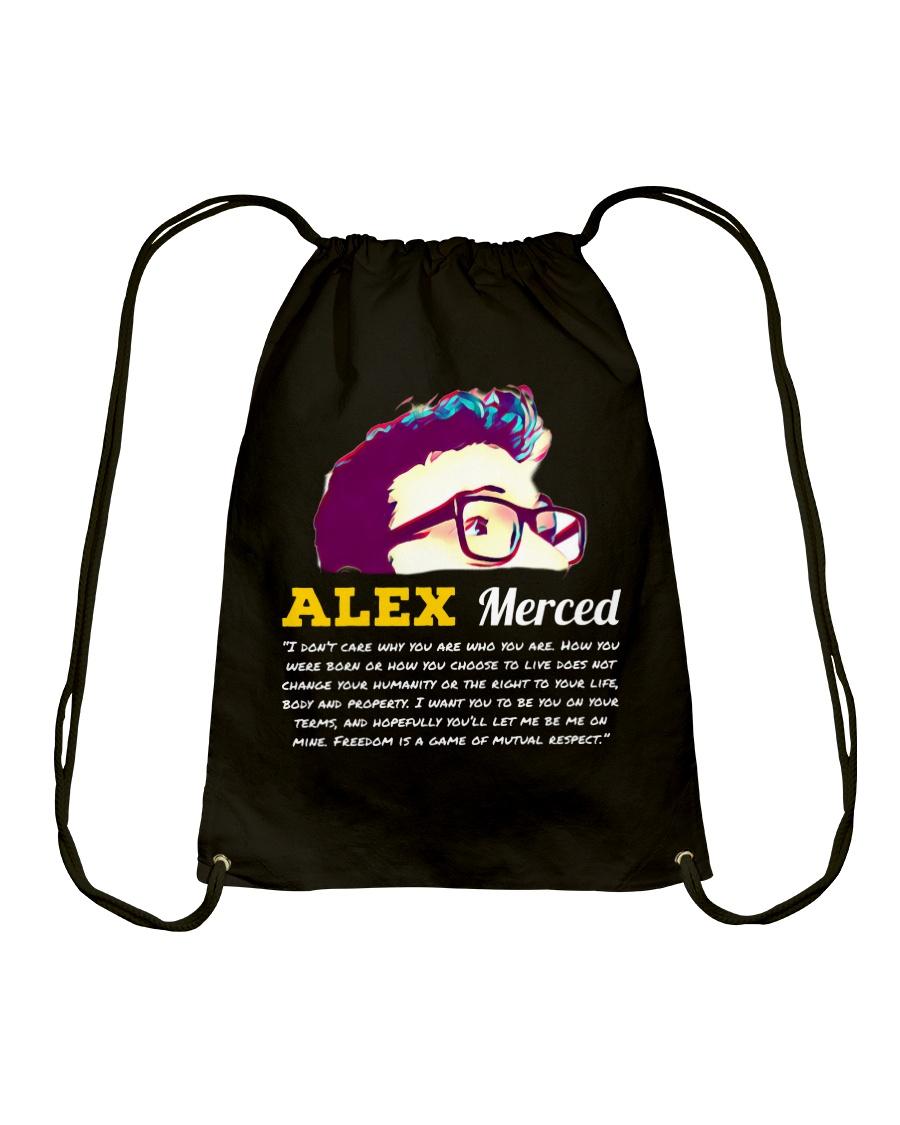 Libertarian World T-Shirt Drawstring Bag