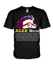 Libertarian World T-Shirt V-Neck T-Shirt thumbnail