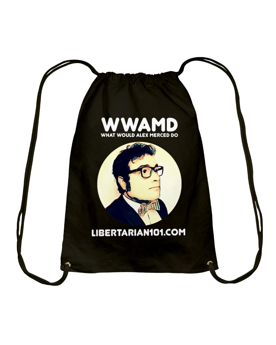 What Would Alex Do T-Shirt Drawstring Bag