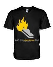 Walk the Liberty Path T-Shirt V-Neck T-Shirt thumbnail