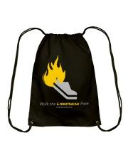 Walk the Liberty Path T-Shirt Drawstring Bag front