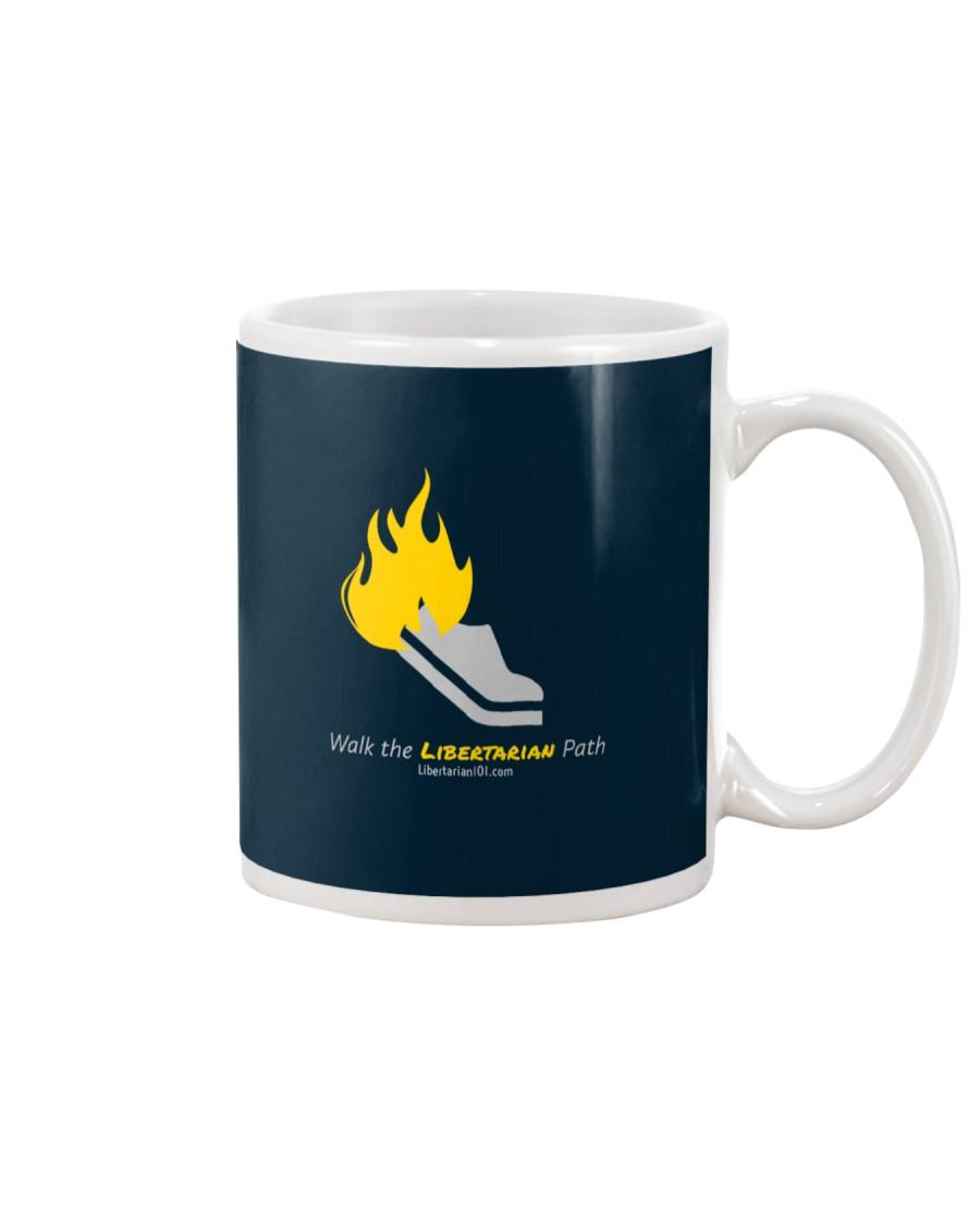 Walk the Liberty Path T-Shirt Mug