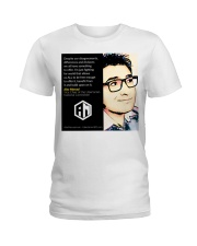 Alex Merced Quote 1 Ladies T-Shirt thumbnail