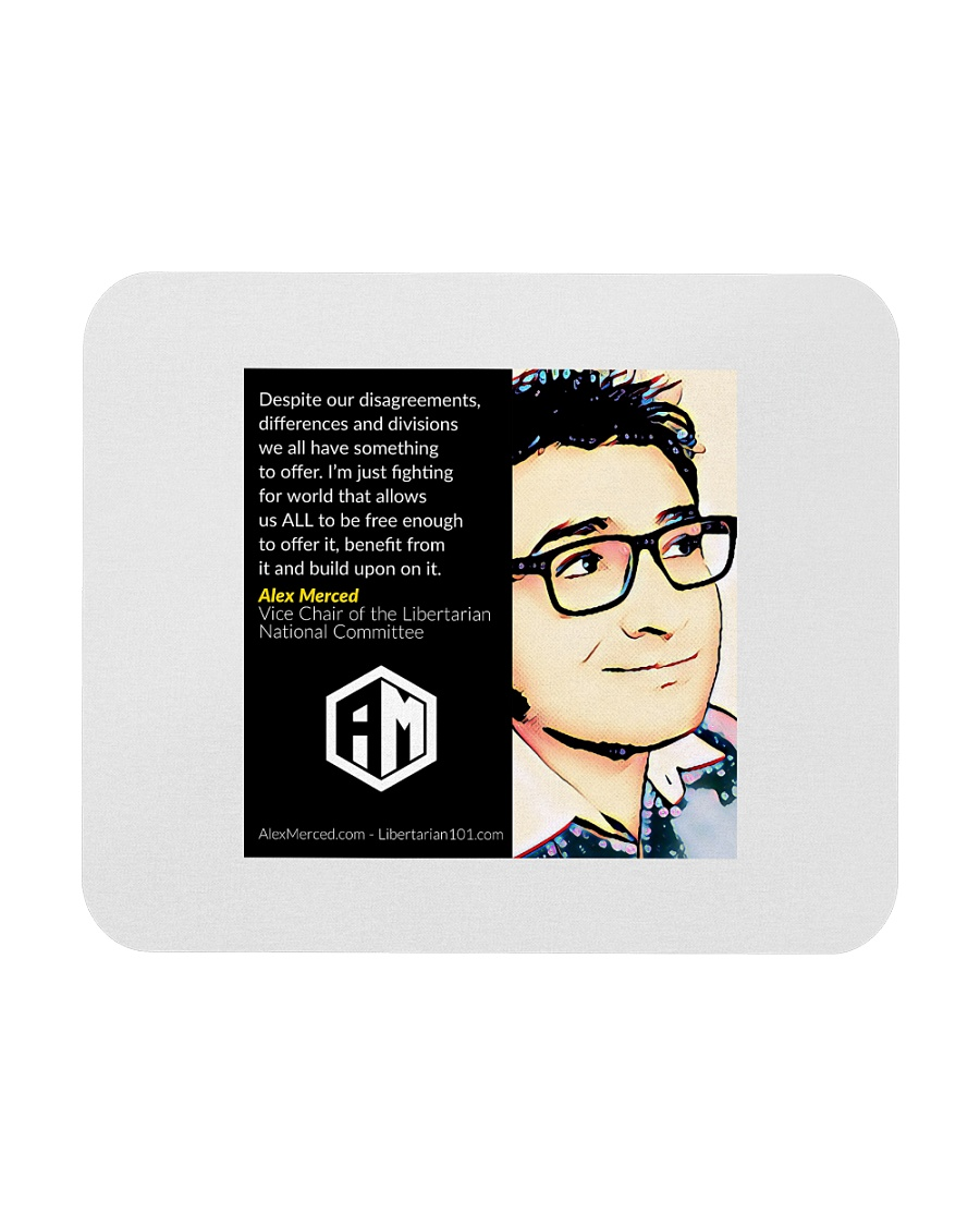 Alex Merced Quote 1 Mousepad