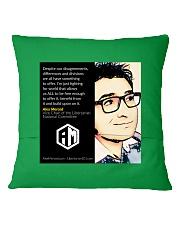 Alex Merced Quote 1 Square Pillowcase back
