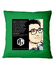 Alex Merced Quote 1 Square Pillowcase front