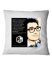 Alex Merced Quote 1 Square Pillowcase tile