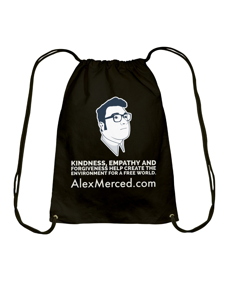 Kindness World T-Shirt Drawstring Bag