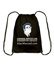 Kindness World T-Shirt Drawstring Bag front