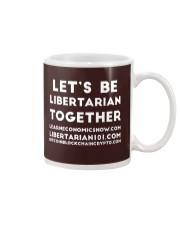 Lets be Libertarian T-Shirt Mug thumbnail