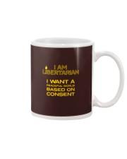 I am Libertarian T-Shirt Mug thumbnail