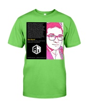 Alex Merced Libertarian World Quote T-Shirt Classic T-Shirt front