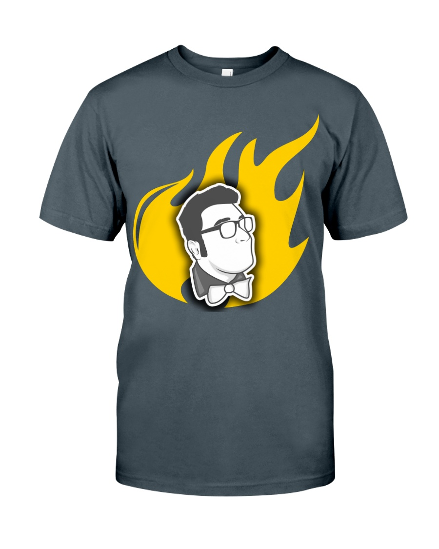 Alex Merced Liberty Flame T-Shirt Classic T-Shirt