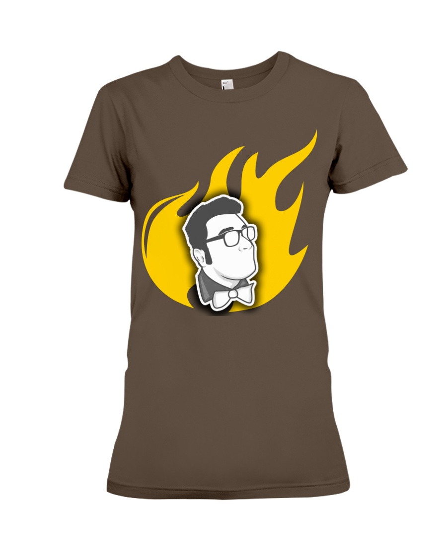 Alex Merced Liberty Flame T-Shirt Premium Fit Ladies Tee