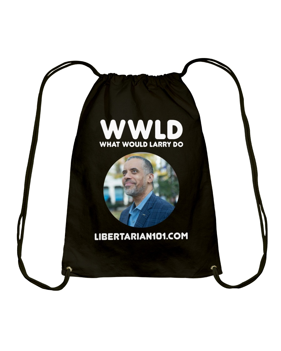 What Would Larry Do T-Shirt Drawstring Bag