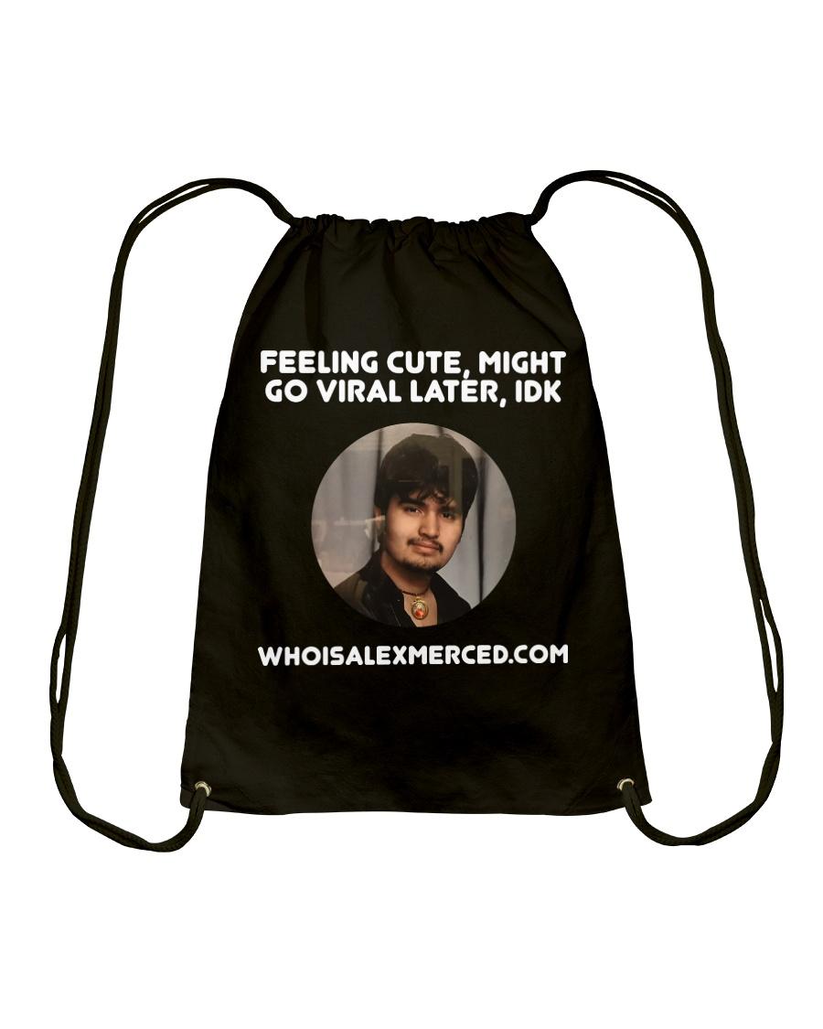 Feeling Cute T-Shirt Drawstring Bag
